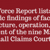 Marion County Small Claims Court Task Force Issues Report