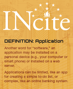 what is computer application software definition