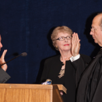 Brent E. Dickson Takes Oath of Office as Chief Justice of Indiana