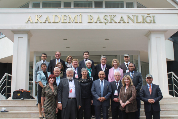 Photo of judges at Justice Academy of Turke