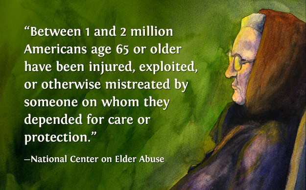 Alfa img - Showing > Elder Abuse Quotes and Sayings