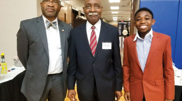 Justice Rucker inducted into Military Veterans Hall of Fame