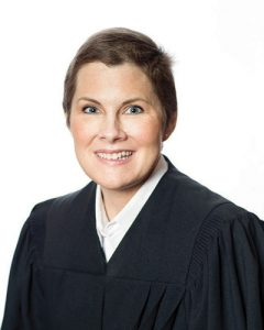 Judge Amy Conner Cornell (Wabash) in her official judicial portrait.
