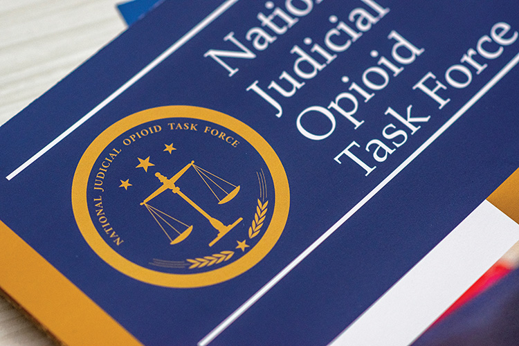 Photo of the National Judicial Opioid Task Force Report
