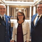 Judge Freese leads CAP cadets